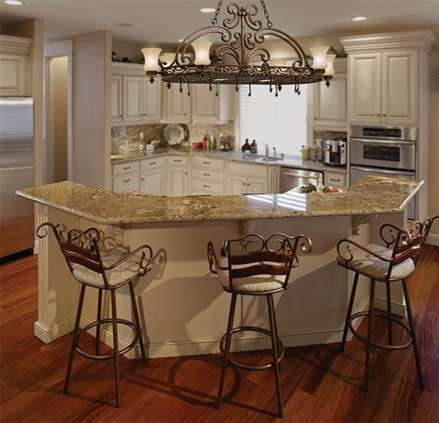 Kitchen Chandeliers Traditional Traditional Kitchen With
